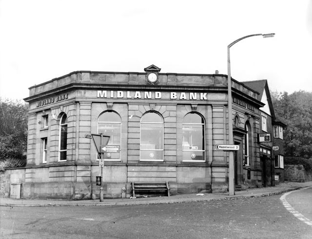 Midland Bank, Town Street, Duffield, c 1950s