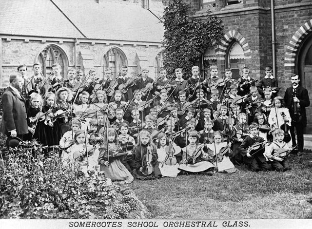 Somercotes School Orchestral Class