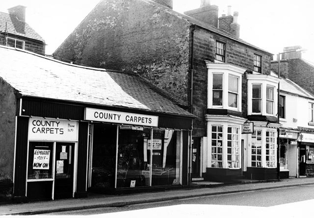 County Carpets and Hair Design in Bridge Street