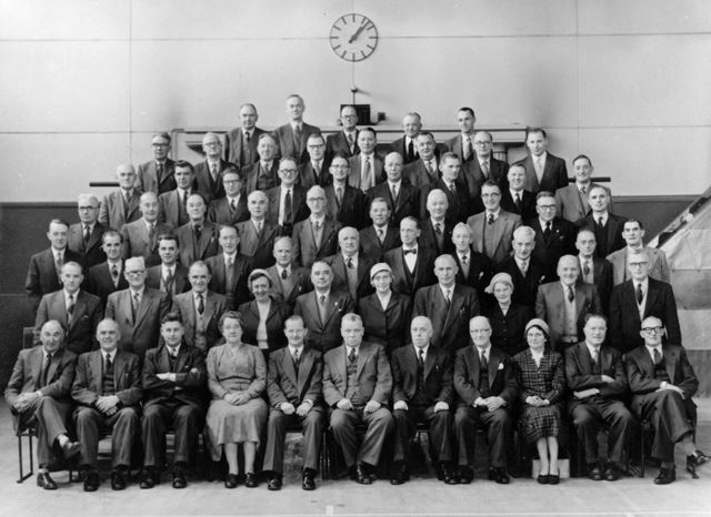 Ripley Co-Operative Society visit to CWS Factory in Lowestoft, 1957