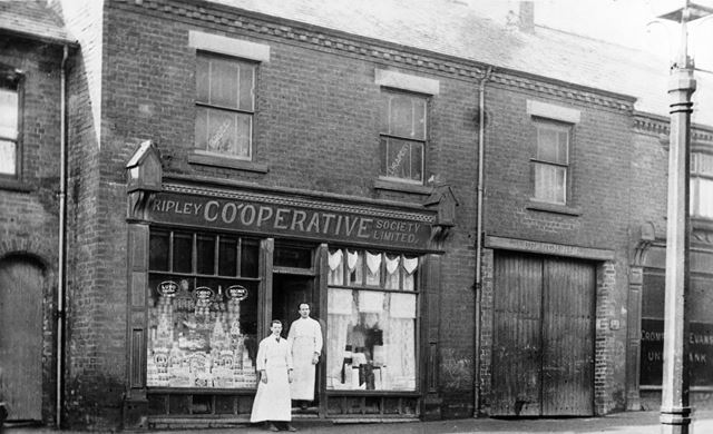 Ripley Co-operative Society Limited, George Street, Riddings, 1910