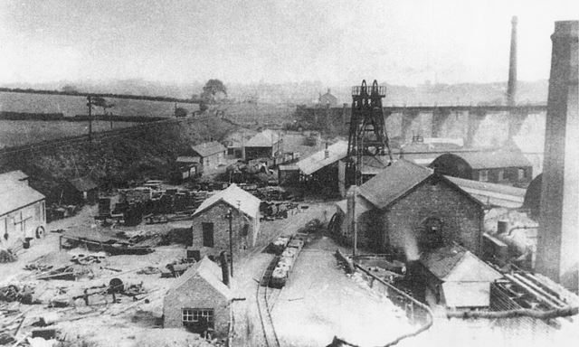 Pentrich Colliery, Ripley, c 1920s