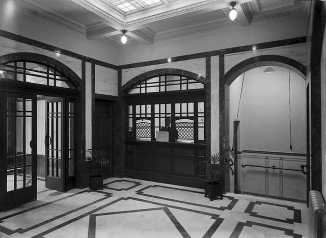 Natural Baths -entrance hall and pay office