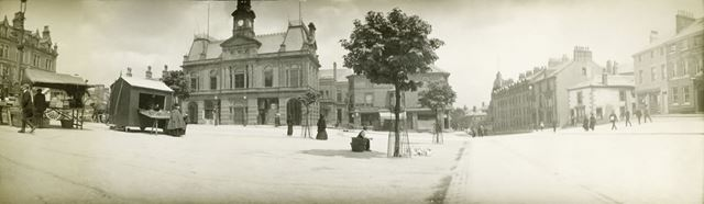 Market Place and Town Hall, Buxton
