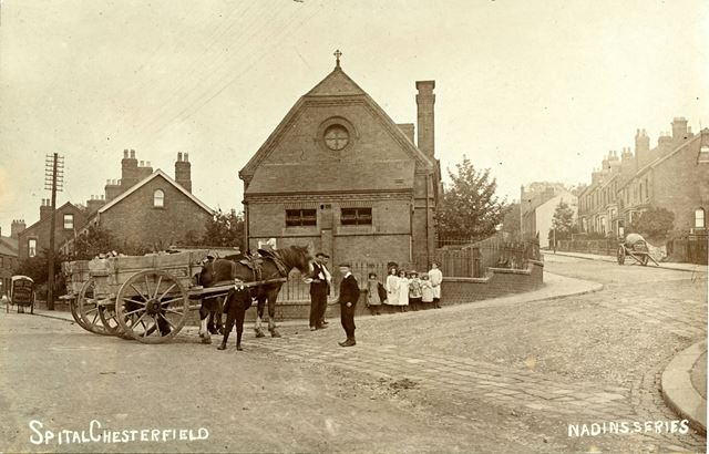 Valley Road junction with Hartington Road