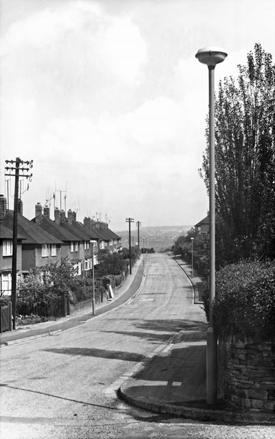 Swaddale Avenue, Tapton, Chesterfield, 1961