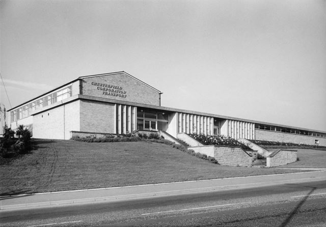 Corporation Transport Department, Chesterfield, 1966