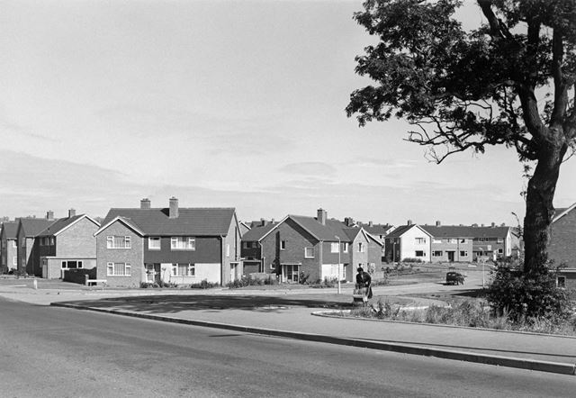 Gower Crescent, Loundsley Green, Chesterfield, 1966
