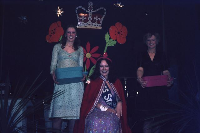Carnival Queen and Attendants, Staveley, c 1970s ?