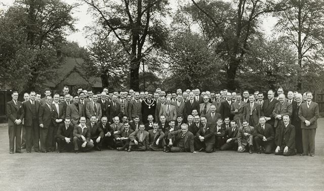 Visit of Astley Green Coillery, Miner's Welfare Club, Nottingham Road, Ripley, 1958