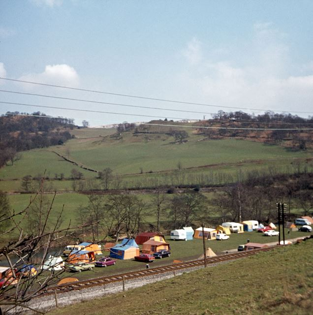 Campsite off A6, Whatstandwell, c 1960s