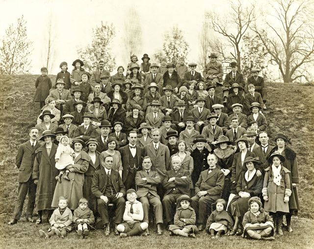 Co-Operative Society Day Out at The Beauty Spot,  Ilkeston, c 1910s-20s