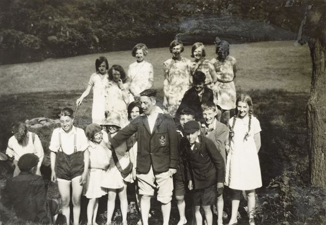 National School Outing to Beacon Hill, Leicestershire, 1930