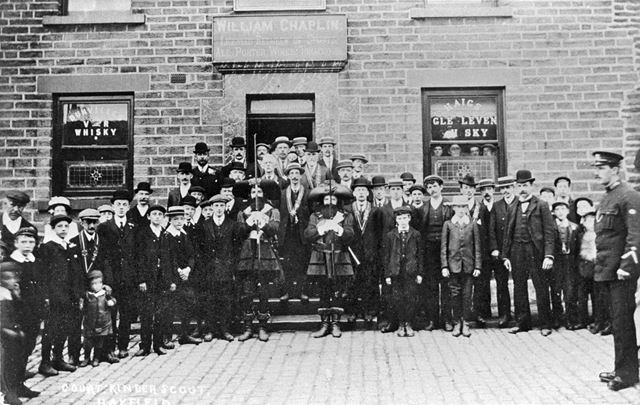 The Ancient Order of Foresters, Packhorse Inn, Market Street, Hayfield, c 1900s