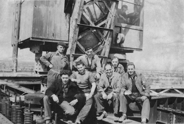 Group of workers at Willington Power Station