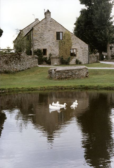 A Cottage with Duck Pond