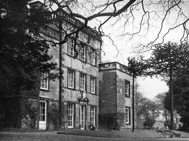 The front of Mosborough Hall