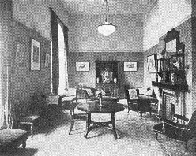 Smedley's Hydro - Interior, a private drawing room
