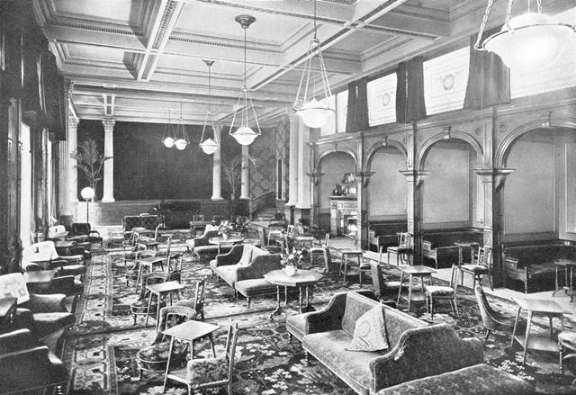 Smedley's Hydro - The Drawing Room