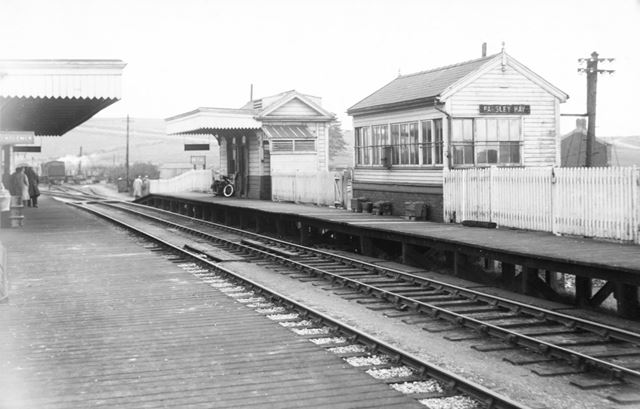 The London North Western and High Peak Railway Station at Parsley Hay