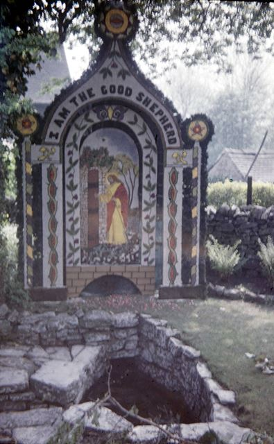 'The Coffin' well dressing
