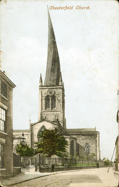 St Mary and All Saints Church - Crooked Spire