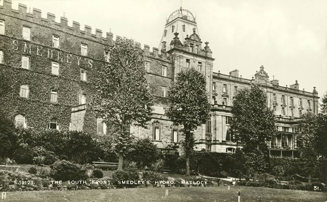 Smedley's Hydro - South front