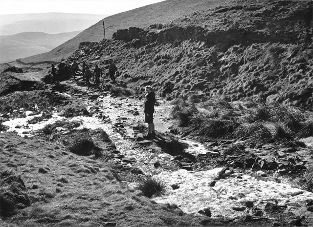 Ford on Hayfield to Edale Bridle Road