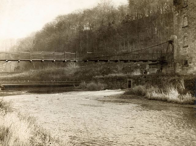 Old Bridge from the Mill
