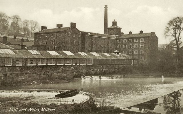 Mill and weirs
