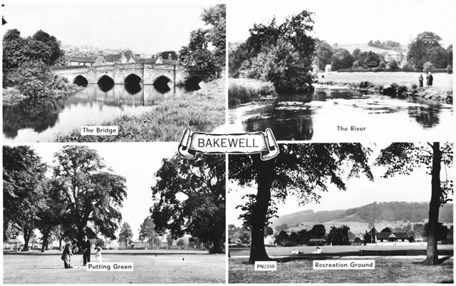 Composite - The Bridge, The River, Putting Green and Recreation Ground.