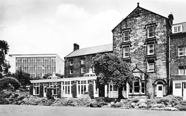 County Hall Technical Services building and Chatsworth Hall