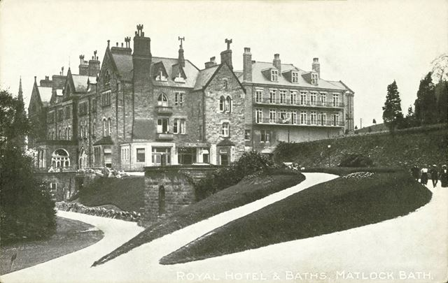 The Royal Hotel and baths