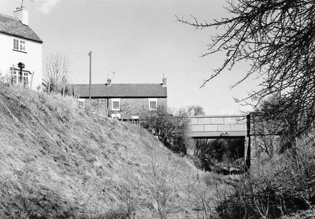 Disused line of the Derby to Ashby Railway, Tonge