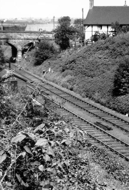 The Derby to Ashby Railway at Kings Newton