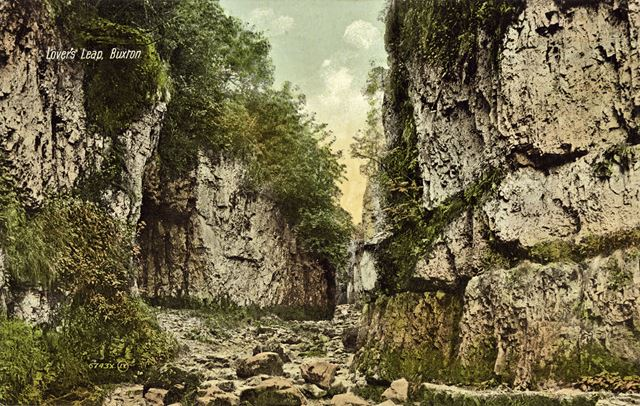 'Lovers Leap', Wye Valley, near Buxton