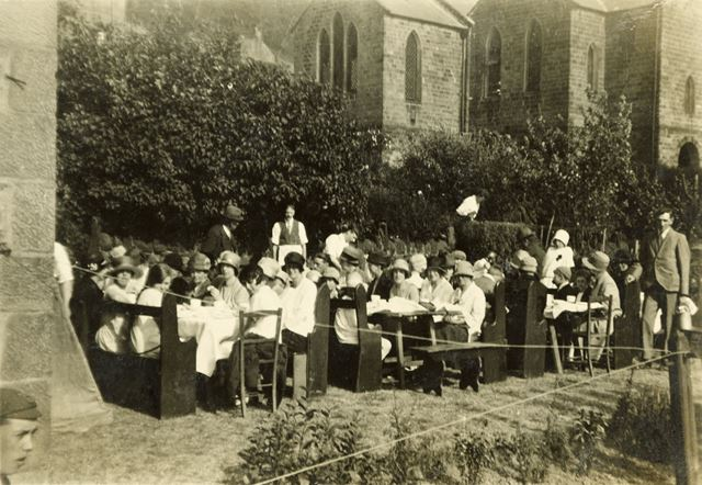 Mens event in the Chapel grounds