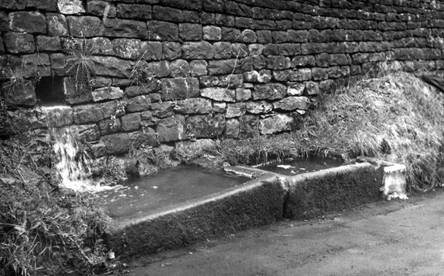 Water troughs, Oker, not dated