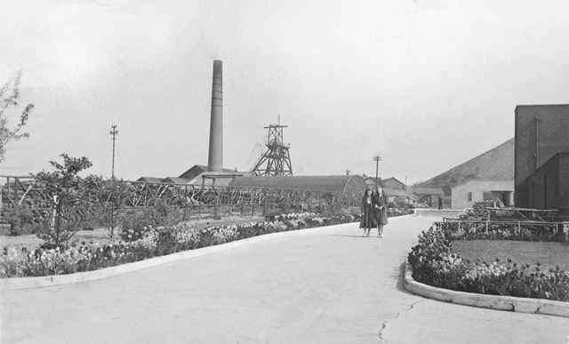 Pit Head, Park House Colliery, Clay Cross