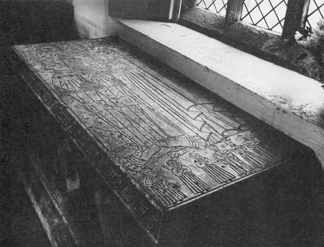 St Leonard's Church - Tomb of John Revell died 1537 and wife Margaret died 1500.