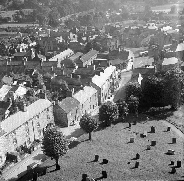 View of Bakewell from Chrurch Tower