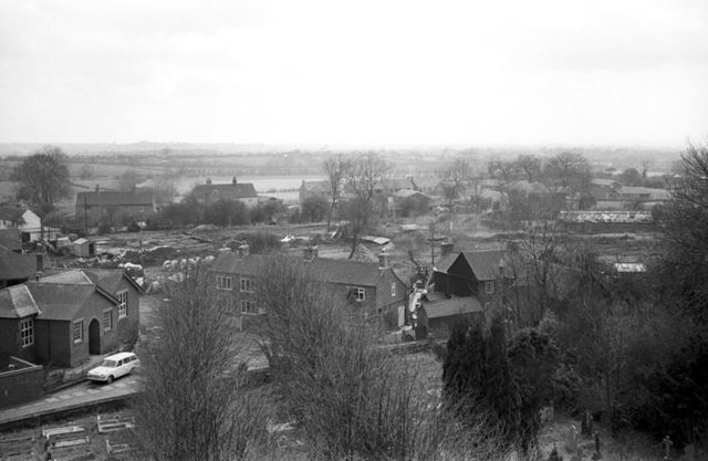 View of Village from Church Tower