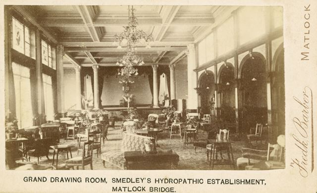 Smedley's Hydro Interior - The Drawing Room