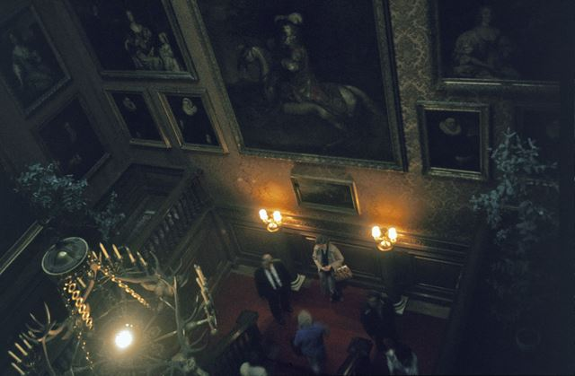 Chatsworth House, Interior - The Oak Stairs