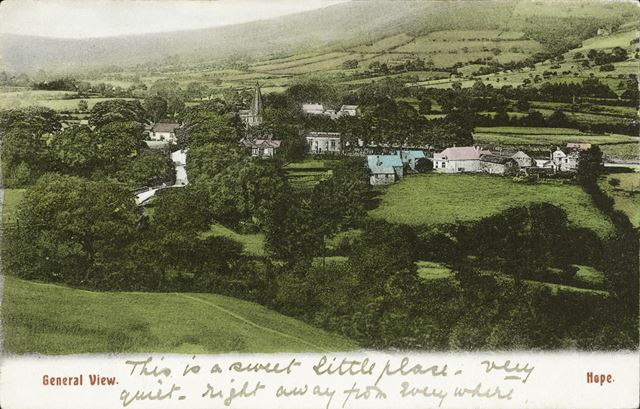 General View of Hope Valley, c 1905