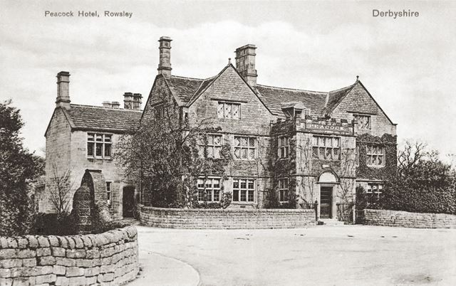 Peacock Hotel, Dale Road North (A6), Rowsley, c 1920s