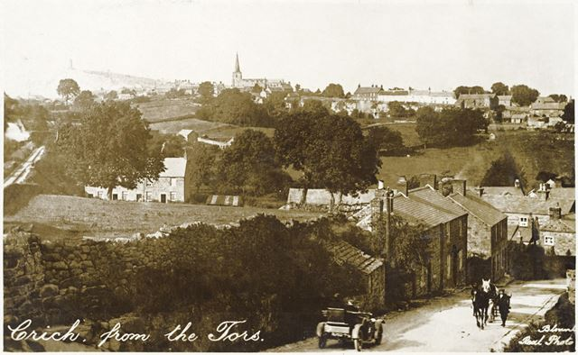 View of Crich from the Tors, c 1910s