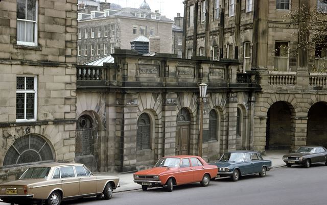 Natural Mineral Baths, The Crescent, Buxton, c 1980s