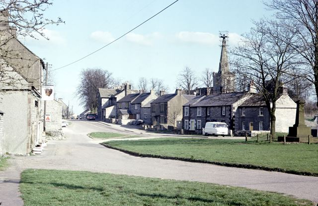 The Square, Monyash, Bakewell, 1976