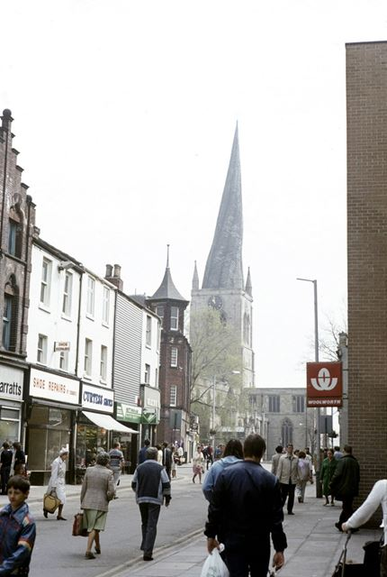 Parish Church of Our Lady and All Saints, Church Way, Chesterfield, c 1980s